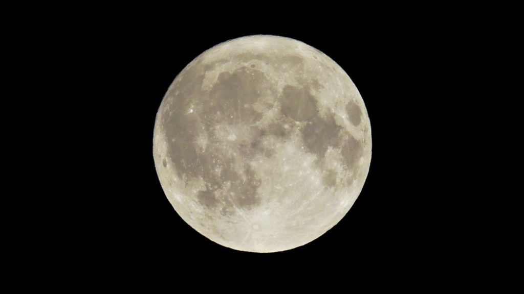 volle maan 25 september 2018