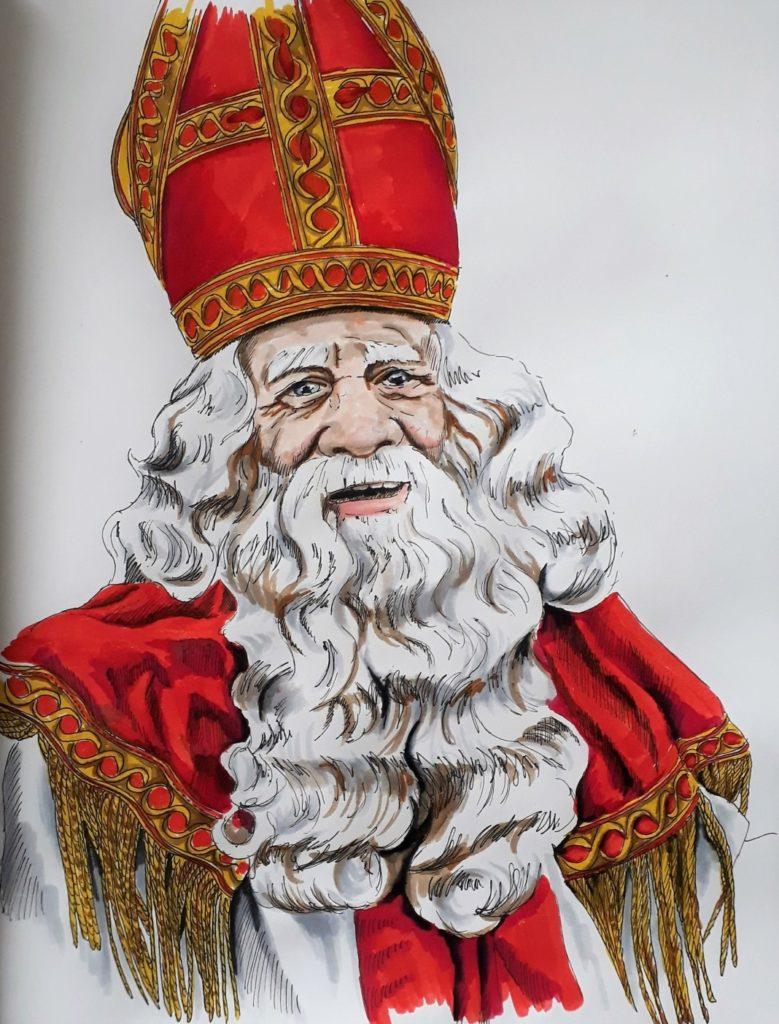 Sinterklaas brushpennen zwartepietendiscussie