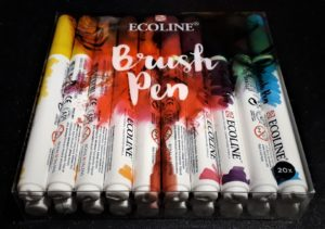 Talens brush pens