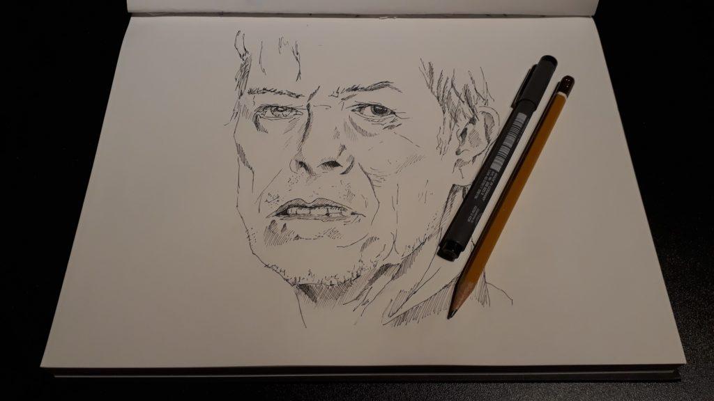 David Bowie Schets