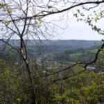 Vergezicht over Spa Remouchamps Belgische Ardennen