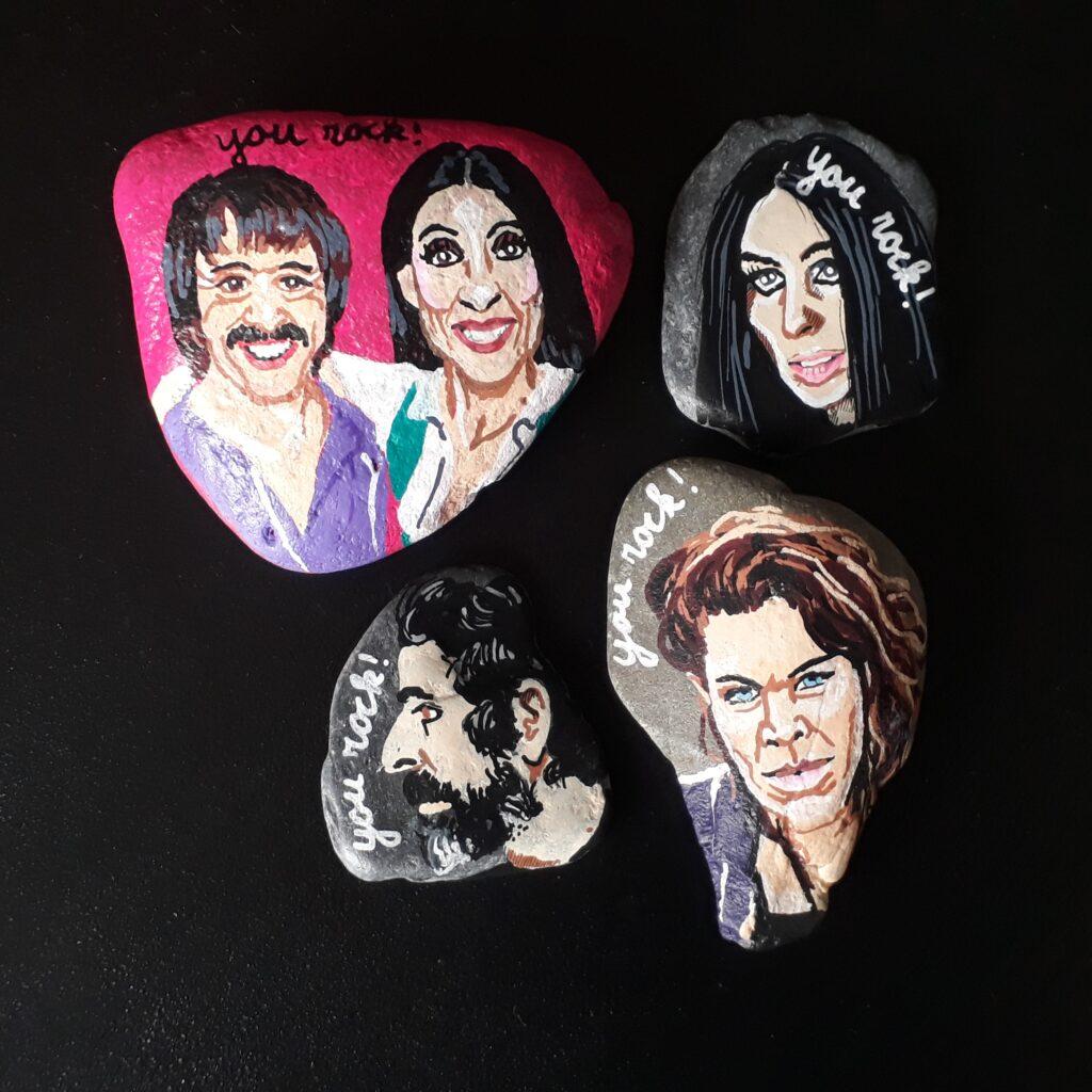 Happy Stones You Rock